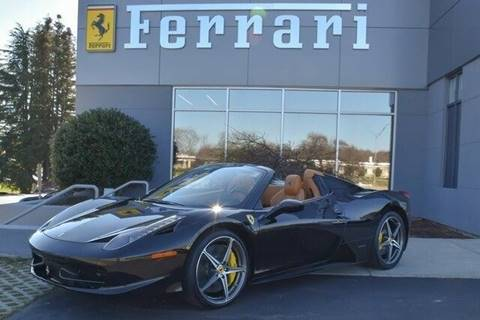 2015 Ferrari 458 Spider for sale at Foreign Auto Brokers in Charlotte NC