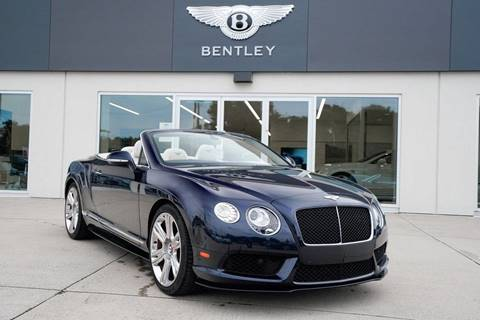 2014 Bentley Continental GT V8 S for sale at Foreign Auto Brokers in Charlotte NC