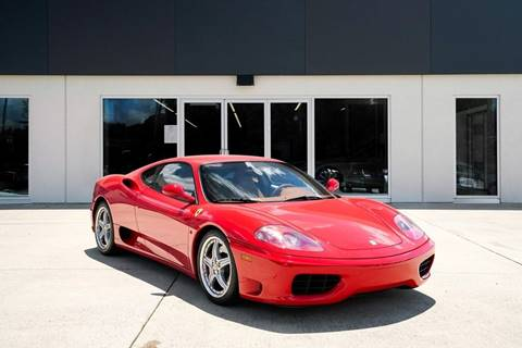 2004 Ferrari 360 Modena for sale at Foreign Auto Brokers in Charlotte NC
