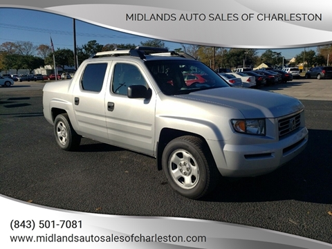 Honda Dealership Charleston Sc >> 2008 Honda Ridgeline For Sale In Charleston Sc