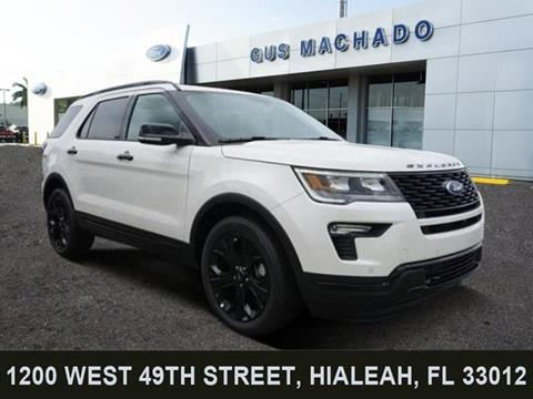 2019 Ford Explorer for sale in Hialeah, FL