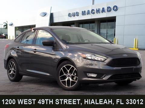 Gus Machado Ford Hialeah >> Used 2018 Ford Focus For Sale - Carsforsale.com®