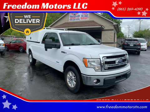 2014 Ford F-150 XLT for sale at Freedom Motors LLC in Clinton TN