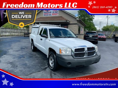 2006 Dodge Dakota ST for sale at Freedom Motors LLC in Clinton TN