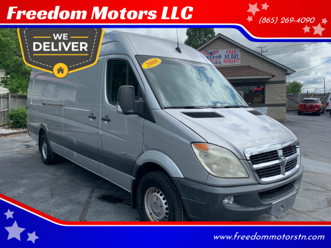 2008 Dodge Sprinter Cargo 2500 for sale at Freedom Motors LLC in Clinton TN