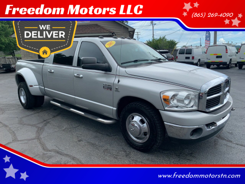 2007 Dodge Ram Pickup 3500 Laramie for sale at Freedom Motors LLC in Clinton TN