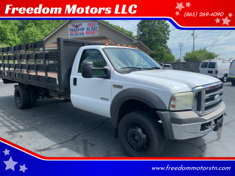 2005 Ford F-450 Super Duty for sale at Freedom Motors LLC in Clinton TN