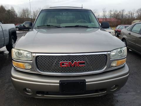 2002 GMC Yukon for sale at Morrisdale Auto Sales LLC in Morrisdale PA