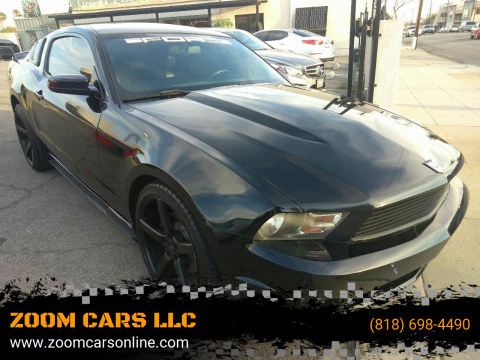 2011 Ford Mustang V6 for sale at ZOOM CARS LLC in Sylmar CA