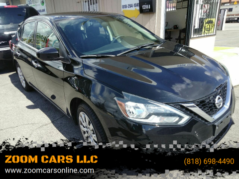 2017 Nissan Sentra SV for sale at ZOOM CARS LLC in Sylmar CA