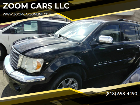 2007 Chrysler Aspen Limited for sale at ZOOM CARS LLC in Sylmar CA