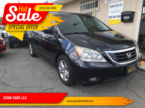 2008 Honda Odyssey Touring for sale at ZOOM CARS LLC in Sylmar CA