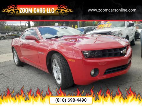 2010 Chevrolet Camaro LT for sale at ZOOM CARS LLC in Sylmar CA