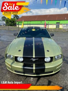 2005 Ford Mustang GT Premium for sale at L&M Auto Import in Gastonia NC