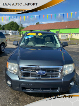 2008 Ford Escape XLT for sale at L&M Auto Import in Gastonia NC