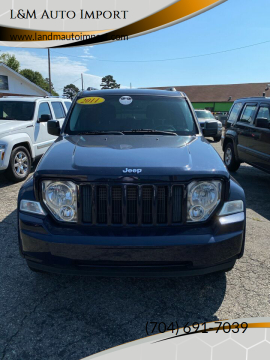 2012 Jeep Liberty Sport for sale at L&M Auto Import in Gastonia NC
