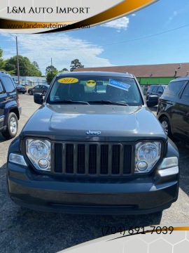2011 Jeep Liberty Sport Jet for sale at L&M Auto Import in Gastonia NC