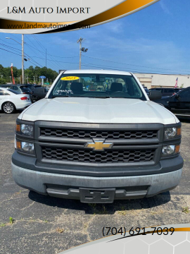 2015 Chevrolet Silverado 1500 Work Truck for sale at L&M Auto Import in Gastonia NC