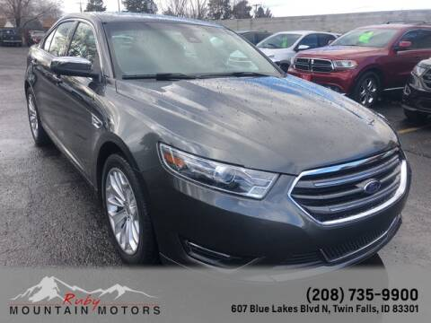 2018 Ford Taurus Limited for sale at Ruby Mountain Motors Twin Falls in Twin Falls ID