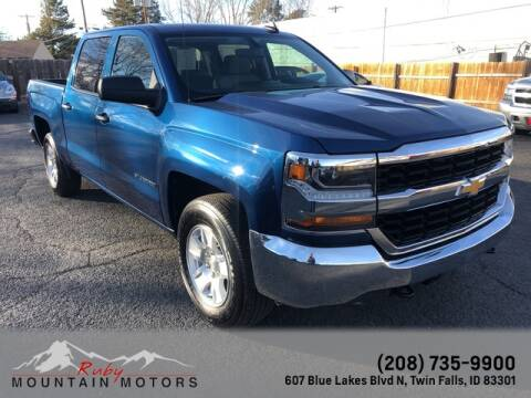 2018 Chevrolet Silverado 1500 for sale at Ruby Mountain Motors Twin Falls in Twin Falls ID