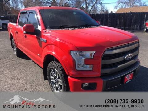 2015 Ford F-150 for sale at Ruby Mountain Motors Twin Falls in Twin Falls ID
