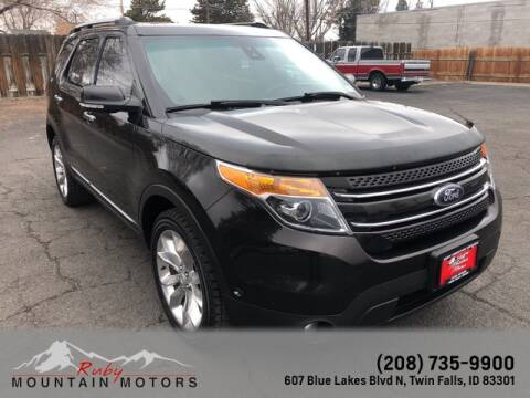 2013 Ford Explorer Limited for sale at Ruby Mountain Motors Twin Falls in Twin Falls ID