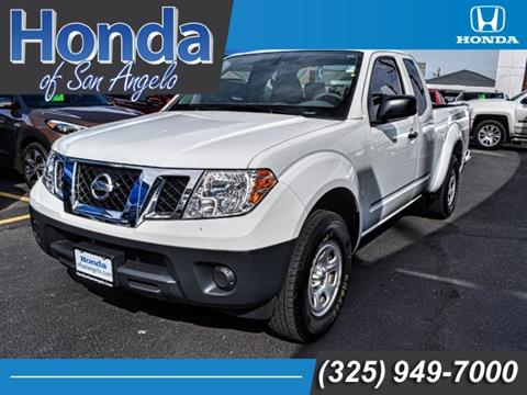 2016 Nissan Frontier for sale in San Angelo, TX