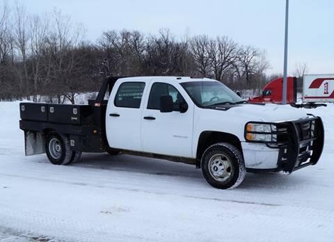 2013 Chevrolet Silverado 3500HD CC Work Truck for sale at KA Commercial Trucks, LLC in Dassel MN