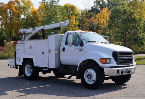 2000 Ford F-650 Super Duty for sale at KA Commercial Trucks, LLC in Dassel MN