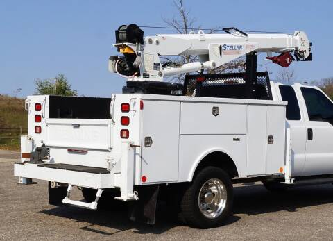 2013 Stellar 6521 Electric/Hydraulic Crane for sale at KA Commercial Trucks, LLC in Dassel MN