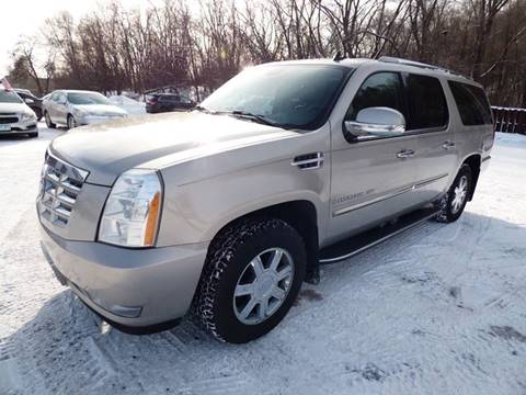 2007 Cadillac Escalade ESV for sale at Chris's Century Car Company in Saint Paul MN