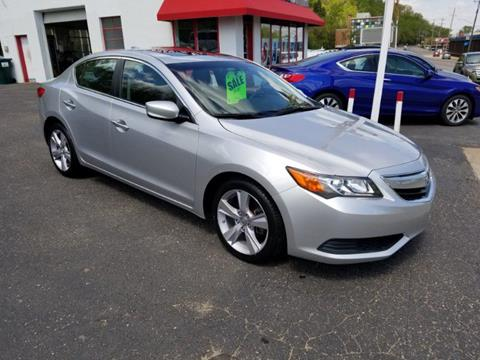2015 Acura ILX for sale at Chris's Century Car Company in Saint Paul MN