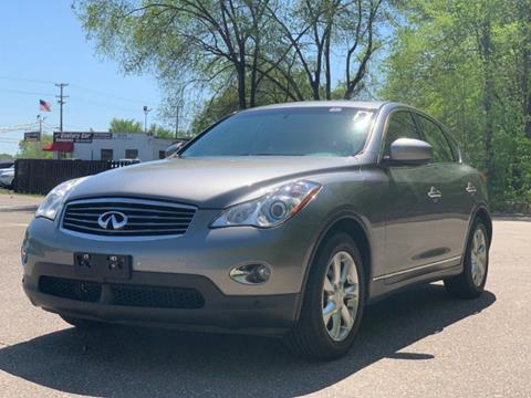 2008 Infiniti EX35 for sale at Chris's Century Car Company in Saint Paul MN