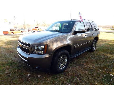 2011 Chevrolet Tahoe for sale at Chris's Century Car Company in Saint Paul MN