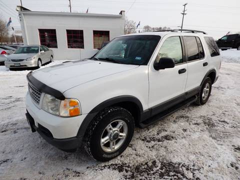 2003 Ford Explorer for sale at Chris's Century Car Company in Saint Paul MN