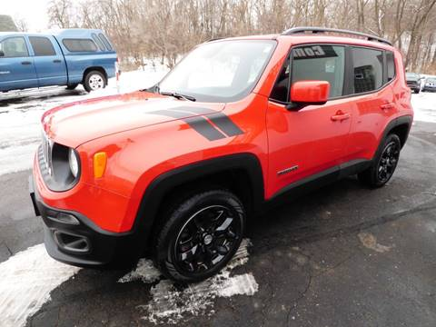 2016 Jeep Renegade for sale at Chris's Century Car Company in Saint Paul MN