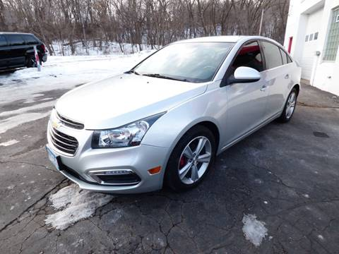 2015 Chevrolet Cruze for sale at Chris's Century Car Company in Saint Paul MN