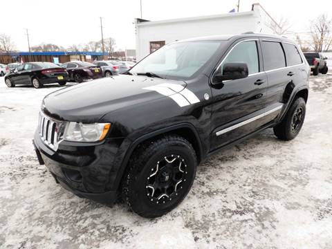 2013 Jeep Grand Cherokee for sale at Chris's Century Car Company in Saint Paul MN
