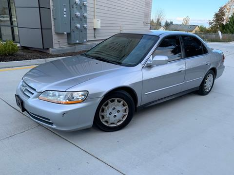 2002 Honda Accord for sale in Lynnwood, WA