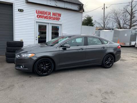 2015 Ford Fusion SE for sale at Car VIP Auto Sales in Danbury CT
