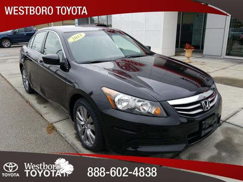 2011 Honda Accord for sale in Westborough, MA