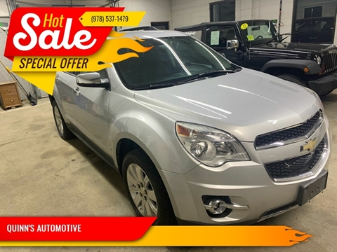 Equinox For Sale >> Chevrolet Equinox For Sale In Leominster Ma Quinn S