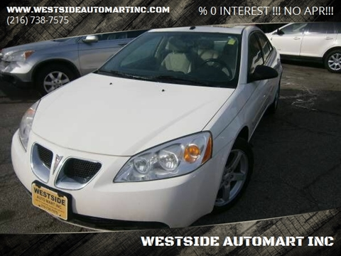 2008 Pontiac G6 for sale in Cleveland, OH