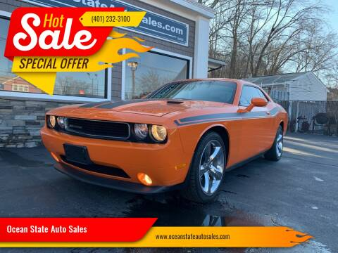 2012 Dodge Challenger for sale at Ocean State Auto Sales in Johnston RI