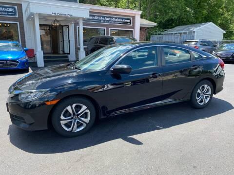 2017 Honda Civic for sale at Ocean State Auto Sales in Johnston RI