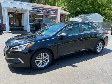 2017 Hyundai Sonata for sale at Ocean State Auto Sales in Johnston RI