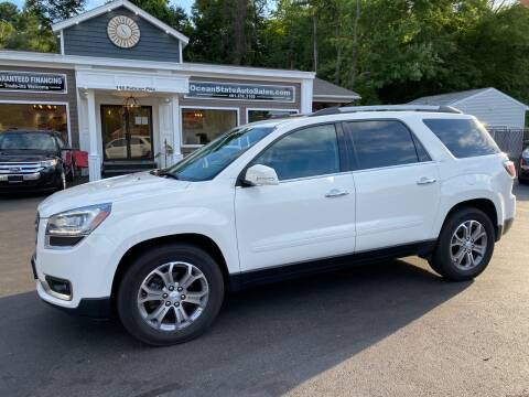 2014 GMC Acadia for sale at Ocean State Auto Sales in Johnston RI