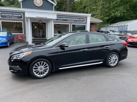2015 Hyundai Sonata for sale at Ocean State Auto Sales in Johnston RI
