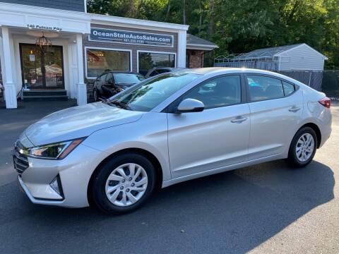 2019 Hyundai Elantra for sale at Ocean State Auto Sales in Johnston RI