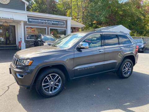 2017 Jeep Grand Cherokee for sale at Ocean State Auto Sales in Johnston RI